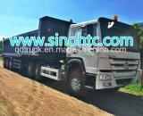 Acoplado del transporte acoplado del descargador de 50 TONELADAS para el transporte pesado