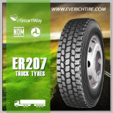 la boue 11r22.5 fatigue les pneus bon marché chinois du pneu en acier TBR de camion de /All avec le POINT Smartway