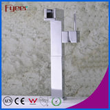 Fyeer Chrome High Body Brass Creative Rotatable Spanner Estilo Single Handle Wash Basin Faucet Torneira misturadora de água