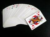 Pinochle avec les cartes de jeu de papier professionnelles de panache