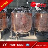 rote kupferne helle Bier-Becken der Qualitäts-500L für Verkauf
