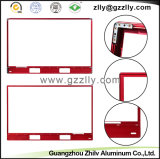 Blocco per grafici di alluminio rosso degli accessori TV di profilo per la decorazione