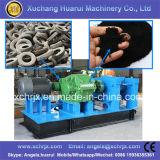 機械ゴム製粉のプラントをリサイクルする半自動タイヤの粉砕機の無駄のタイヤ