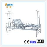 Кровать ручной кровати внимательности стационара регулируемая