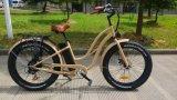 Vélo électrique de beau gros de pneu croiseur saint de plage avec En15194
