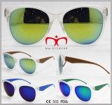 Neue Plastiksonnenbrillen mit Revo Objektiv für Unisex (WSP609683)