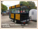 Ys-Ho350 kundenspezifische Nahrungsmittelkarre bewegliche BBQ-Schlussteil-Nahrung Van für Verkauf