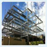 Marco de acero prefabricado del almacén del bajo costo de Wiskind Q235 Q345