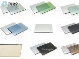 Vidrio reflectante / vidrio teñido / vidrio templado para la construcción (R-TP)