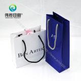 Bonne qualité de sac de papier luxueux d'impression et couleur de Pantone acceptable