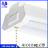 Gruppo di lavoro commerciale del garage della catena di tiro di illuminazione del LED, 40W indicatore luminoso collegabile del negozio del pendente 4 ' LED