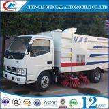 Kehrmaschine-LKW der Fabrik-fördernder Straßen-5cbm mit Pinseln für Verkauf