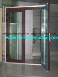Алюминиевые франчузы двери отбрасывают вне дверь