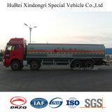 caminhão de petroleiro do combustível do petróleo do pentano do euro 3 de 25cbm FAW com motor Diesel
