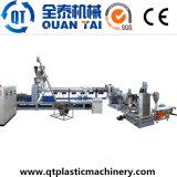 Éclailles de PE/PP pelletisant la chaîne de production plastique réutilisant des machines