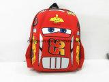 saco de escola de EVA do carro 3D, caixa de lápis