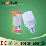 Ce/RoHS 증명서를 가진 Ctorch LED T 전구 8W