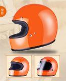 De volledige Helm van het Gezicht met het Materiaal van de Glasvezel
