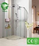 中国の熱い販売は安く立つ2味方された滑走の緩和されたガラスのシャワー機構を解放する