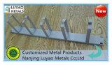Metal que estampa piezas y soldado