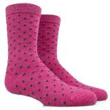 Bunte Punkt-Muster-Mannschafts-Socke