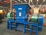 Minenmaschinenindustrie-hölzerne Plastik-/Gummi-/Gummireifen-Reißwolf-Maschine