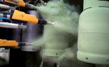 Ligne d'enduit automatique de poudre de cylindre de gaz de LPG
