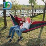 Bewegliche im Freien reisende kampierende Nylongewebe-hängende Großhandelshängematte