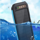 LCDが付いている二重USBの出力10000mAh携帯用太陽エネルギーバンク