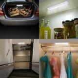 Свет шкафа чувства ночи движения потолочной лампы СИД портативный франтовской