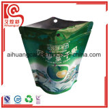 Microplaquetas secadas do Durian que empacotam o saco de plástico do Ziplock da folha de Aluminuim