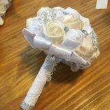 أطلس باقة زفافيّ جميلة عرس زهرة باقات