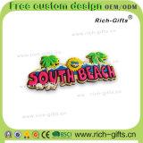 Spiaggia del sud personalizzata del ricordo dei magneti del frigorifero del PVC dei regali della decorazione (RC- Stati Uniti)