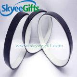 Fördernde unbelegte bunte SilikonWristbands für Großhandelsgeschenk
