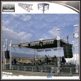 Braguero de aluminio de la azotea del concierto con las alas de los sonidos