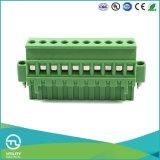 (5.08) blocos terminais plásticos dos conetores do fio do passo Ma2.5/Vf5.0