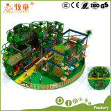 Parco di divertimenti dell'interno della strumentazione del campo da giuoco di stile della foresta da vendere