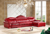 Sofá moderno, sofá de couro, sofá da sala de visitas, sofá Home, sofá de canto (UL-NS129)