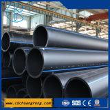 Pipe en plastique de HDPE pour l'approvisionnement en eau (PE100 ou PE80)