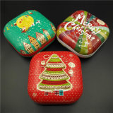 Square Cookies Tin Box for Food/Chocolate/Candy/Toy (S001 - V10)