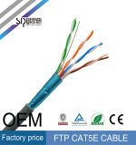 Cable de alambre del ftp Cat5e de Sipu 4 pares de la red del cable de LAN