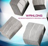 Diamant-Block für Sägeblatt-Ausschnitt-Granit-Platte und Block