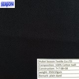 C 7 * 7 * 68 38 340GSM teñido de la tela cruzada tela de algodón para ropa de trabajo / PPE