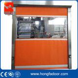 Промышленная завальцовка PVC быстро вверх по двери (HF-69)