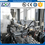 PVC/ABS Doppelschraube, die Extruder/biodegradierbare Plastikfilm-durchbrennenmaschinen-Stärke-biodegradierbare Plastikmaschine zusammensetzt