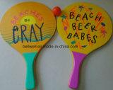 Промотирование с подгонянной печатью цвета и логоса для ракетки пляжа спортов с комплектом центра событий
