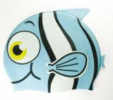 子供の漫画のシリコーンの水泳帽