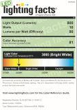 겹켜는 에너지 별 & Dlc를 가진 Dimmable R40/Br40 LED 전구를 디자인했다