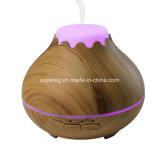 De donkere Houten Verspreider 150ml van de Essentiële Olie van het Aroma van de Korrel Mini