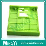 カスタム緑のオレンジ黒い機械装置プラスチック型の部品